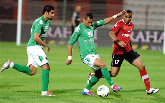 مصر اليوم - الشباب الإماراتي يفوز على الاتفاق السعودي بهدف ناصر مسعود