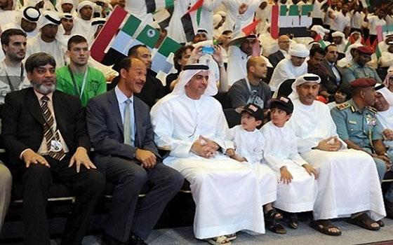 مصر اليوم - افتتاح بطولة أبوظبي العالمية الخامسة لمحترفي الجوجيتسو 2013