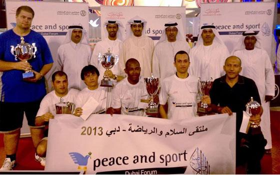 مصر اليوم - انطلاق فعاليات ملتقى السلام والرياضة في إمارة دبي