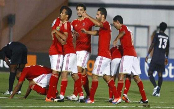 مصر اليوم - الأهلي يفوز على وادي دجلة برأس السيد حمدي
