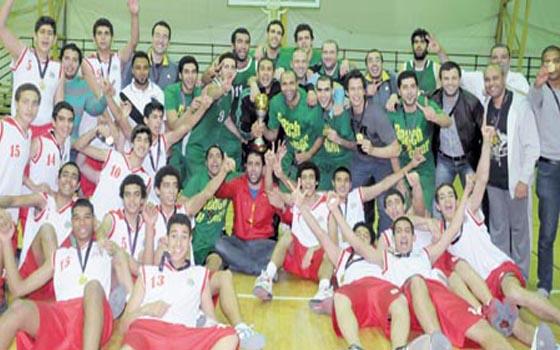 مصر اليوم - سبورتنغ يفوز على الاتحاد السكندري 91/ 87 في نهائي مثير ويتوج بلقب الدوري