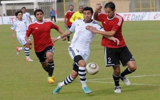 مصر اليوم - تليفونات بني سويف يخطف الحرس على استاد المكس بهدف شرويدة