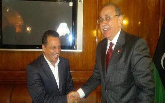 مصر اليوم - الليبي بوعون في القاهرة ليحصل على توقيع البدري نهائيًا
