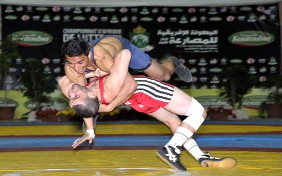 مصر اليوم - المغرب يحرز لقب البطولة الأفريقية للمصارعة اليونانية الرومانية