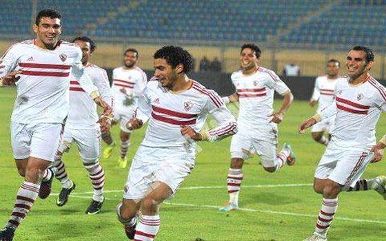 مصر اليوم - الزمالك يفوز بأقل مجهود على الشواكيش بثلاثية دون رد