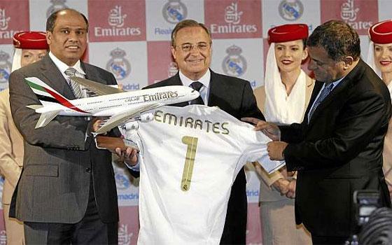 مصر اليوم - رونالدو ورفاقه يشهدون رعاية طيران الإمارات لقميص النادي الملكي