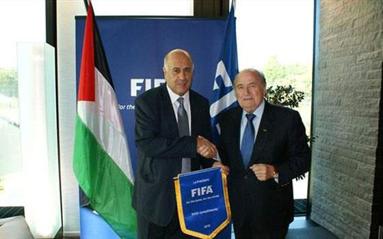 مصر اليوم - معاناة الرياضة الفلسطينية على جدول أعمال كونغرس الفيفا