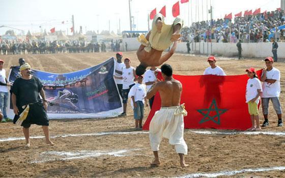 مصر اليوم - المغربي حسبي هشام يُحرز فضية شبان بطولة العالم للمصارعة الشاطئية