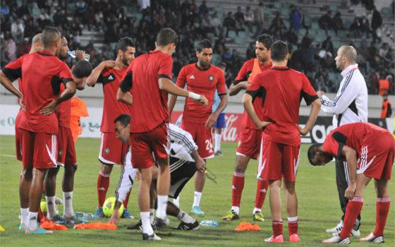 مصر اليوم - المنتخب المغربي يبدأ التدريب في مراكش وبرادة يجري تمارين خاصة