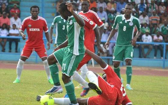 مصر اليوم - نسور نيجيريا تخطف فوزًا صعبًا على حساب كينيا بهدف موسى