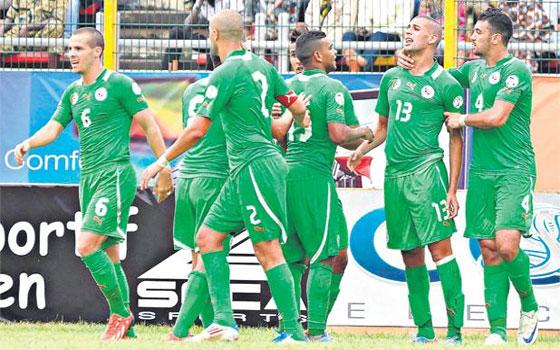 مصر اليوم - الخضر في صدارة المجموعة الثامنة من تصفيات مونديال البرازيل 2014