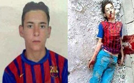 مصر اليوم - أصدقاء الطفل السوري عاشق برشلونة يأملون في دعم ميسي لحملتهم