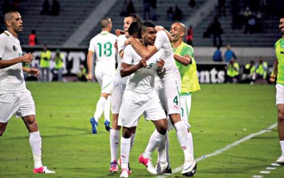 مصر اليوم - الجزائر تفوز على رواندا بهدف في تصفيات مونديال البرازيل 2014