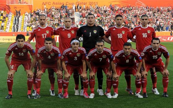 مصر اليوم - رأسية هايل تهدي الأردن بطاقة الملحق الآسيوي أمام أوزبكستان