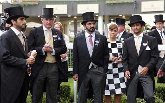 مصر اليوم - حضور عربي مع الملكة اليزابيث خلال رويال اسكوت للخيول في انكلترا
