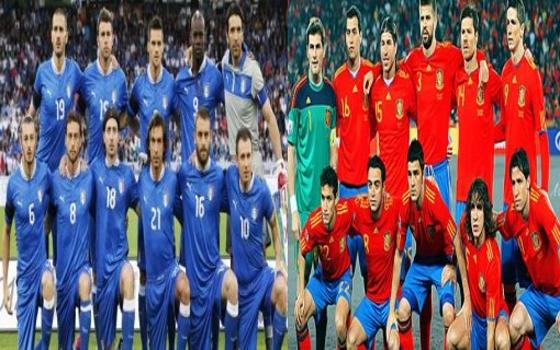 مصر اليوم - إسبانيا تتأهل على حساب إيطاليا 7/6 وتلتقي البرازيل في نهائي كأس القارات