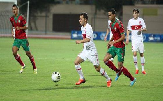 مصر اليوم - الضربات الترجيحية تمنح المنتخب المغربي ذهبية كرة القدم في الألعاب المتوسطية