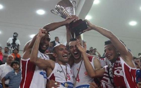 مصر اليوم - الوداد البيضاوي لكرة السلة يتوج بطلا للدوري المغربي الممتاز في طنجة