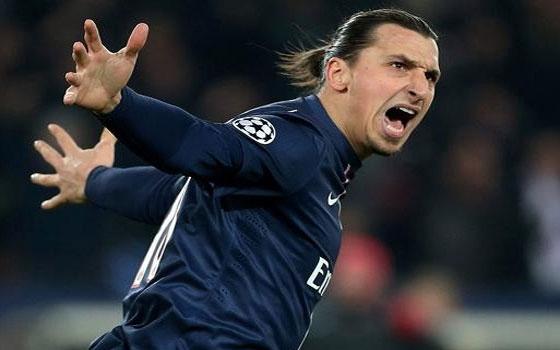 مصر اليوم - مانشستر سيتي الإنكليزي يفاوض إبراهيموفيتش لاعب باريس سان جيرمان