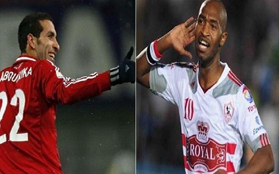 مصر اليوم - شيكابالا و أبوتريكة يقودان الزمالك والأهلي في قمة أفريقية الأربعاء