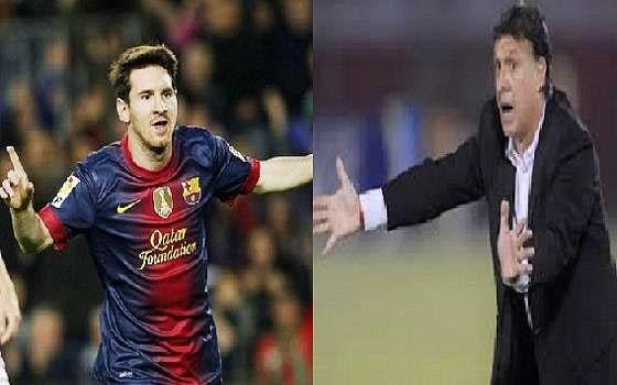 مصر اليوم - الأسطورة ميسي أوصى إدارة برشلونة بالتعاقد مع الأرجنتيني غيراردو مارتينو