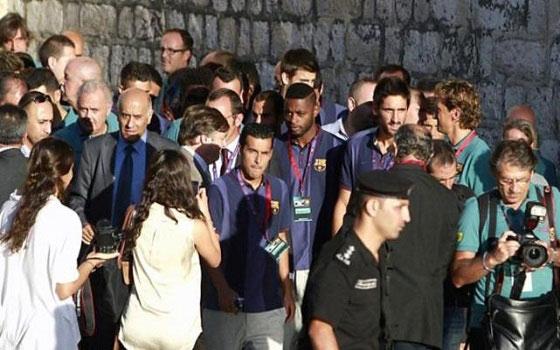 مصر اليوم - الرجوب يثمن زيارة برشلونة ويؤكد  دعمها للمفاوضات الفلسطينية الإسرائيلية