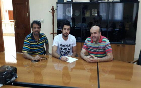 مصر اليوم - المدافع محمد الباشا ينضم رسميًا للرمثا الأردني لموسم واحد