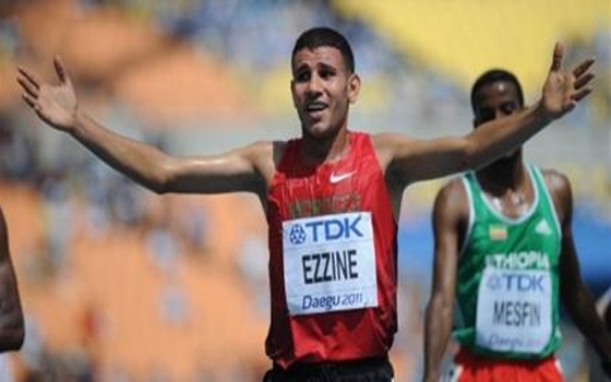 مصر اليوم - المغربي حميد الزين يتأهل لنهائي 3000 متر موانع في بطولة ألعاب القوى في موسكو