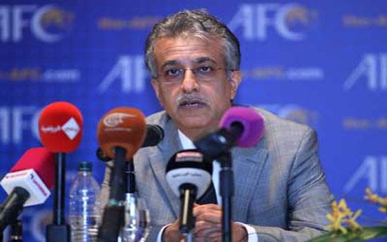 مصر اليوم - الشيخ سلمان رئيس الاتحاد الآسيوي لكرة القدم يثق في نجاح قطر 2022