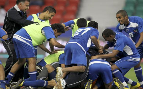 مصر اليوم - ركلات الترجيح تبتسم للكويت وتمنحه المركز الثالث على حساب عمان
