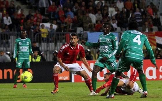 مصر اليوم - الأهلي يضع قدمًا في الدور قبل النهائي لدوري الأبطال بالفوز على ليوبار للمرة الثانية 2/1