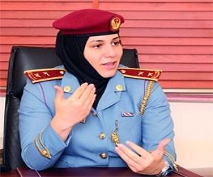 مصر اليوم - سلمى الكعبي أول إماراتية تحصل على رخصة دولية في الهبوط من المناطق المرتفعة