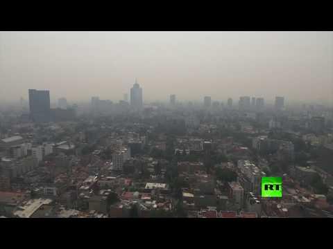 شاهد إعلان حالة الطوارئ في المكسيك بسبب تلوث الهواء