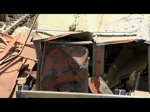 شاهد الأضرار التي خلفها الهجوم على مطار أبها في السعودية