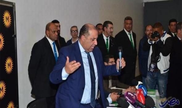 مصر اليوم - سعيد حسبان يستقيل رسميًا من رئاسة  نادي الرجاء البيضاوي